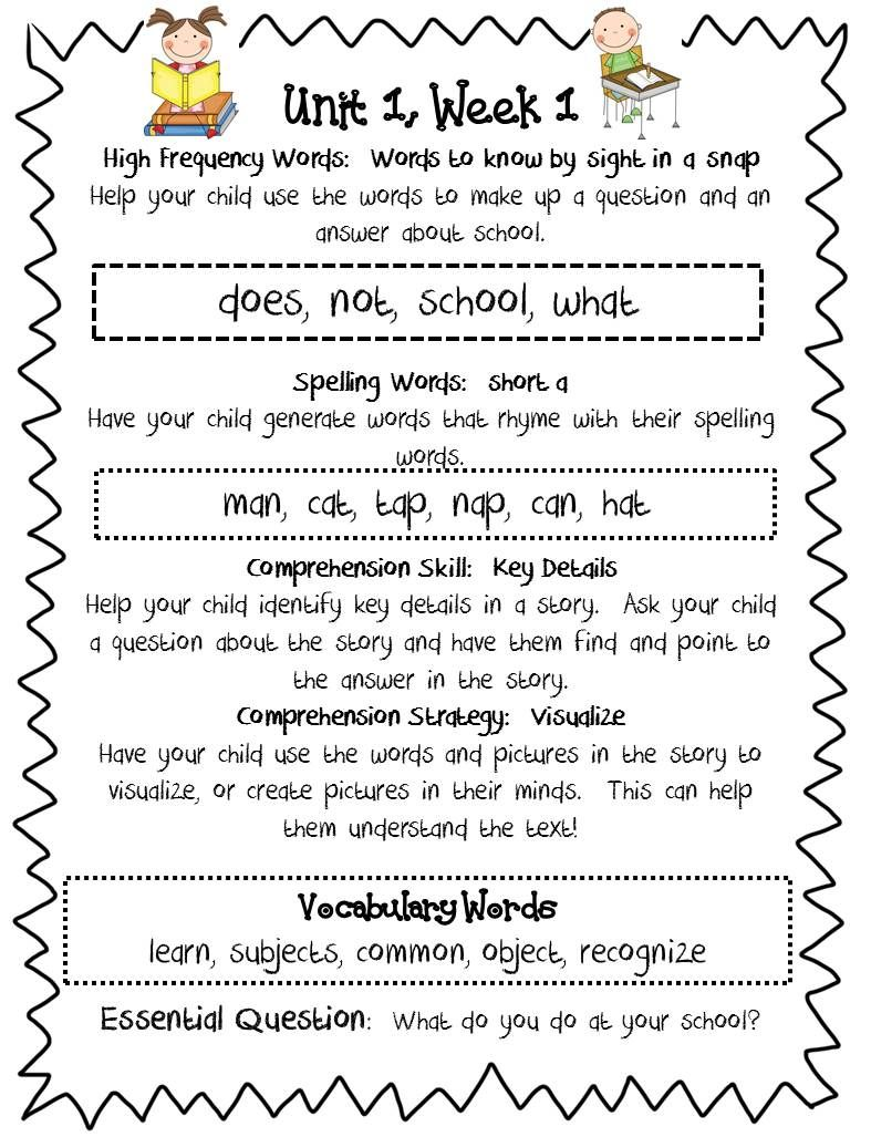 School and Home Connection Lesson Plans & Worksheets