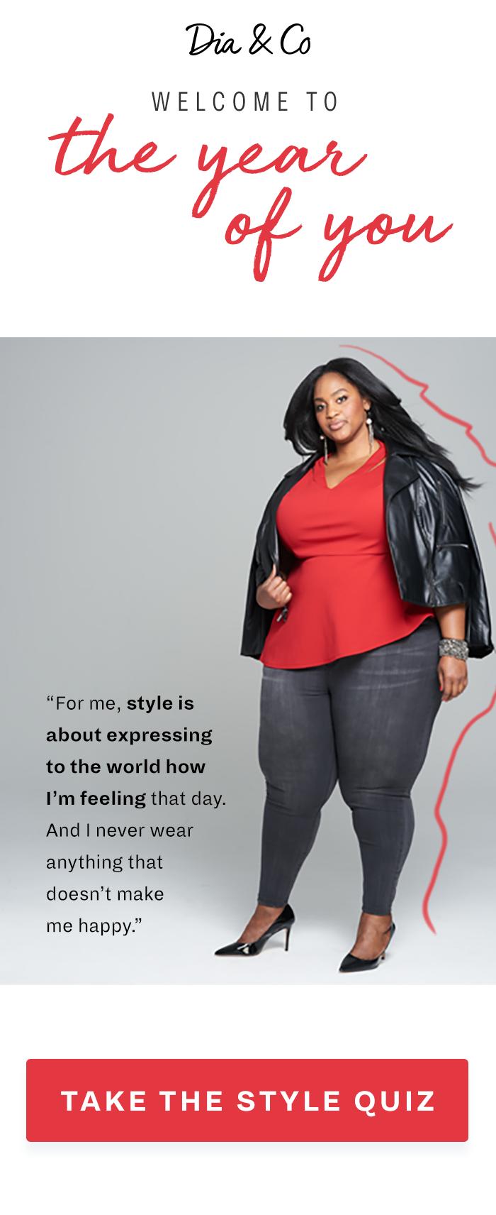 Join a community of fashionable women who wear sizes dresschic