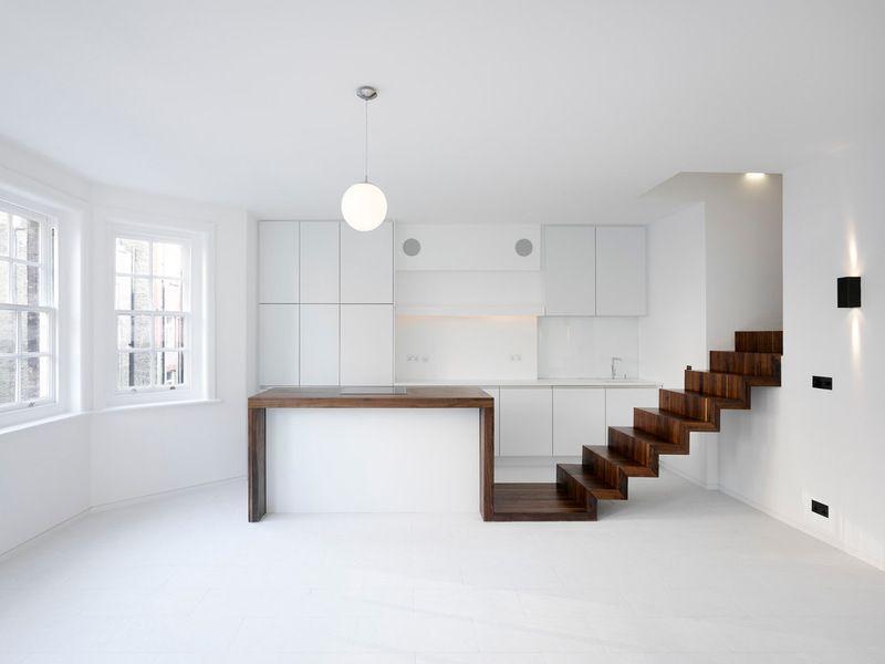 Modern Küche by KHBT Kitchen Pinterest Attic, Staircases and - modern küche design
