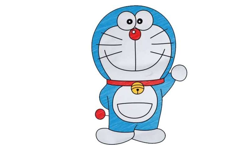 How To Draw Doraemon - My How To Draw