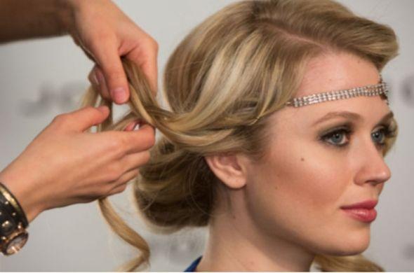 20s Hairstyles Long Hair Tutorial Gatsby Hair Flapper Hair Long Hair Tutorial