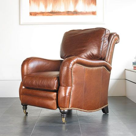 Merlot Leather Recliner Theater Chair Recliners