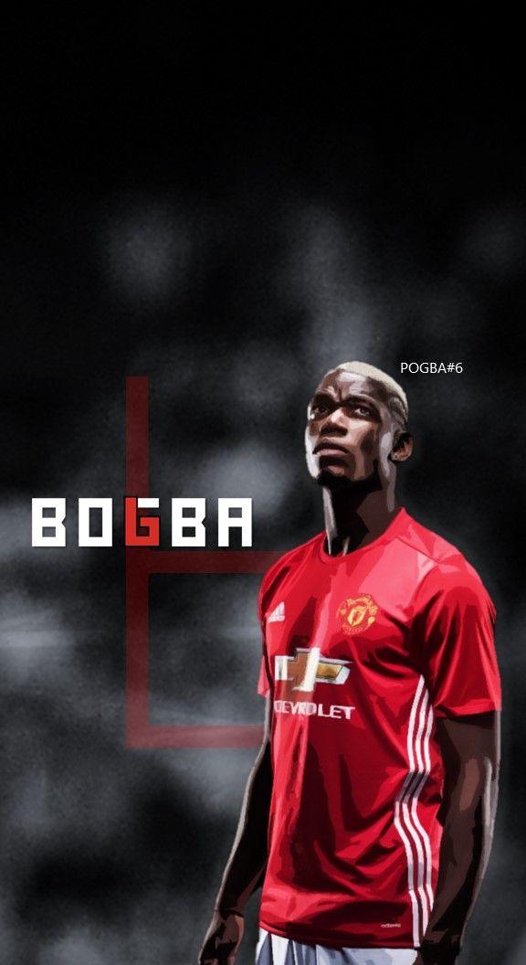 Paul Pogba Manchester United Football Soccer Creative Art Wallpaper Manchester United Fans Manchester United Football Manchester United Football Club
