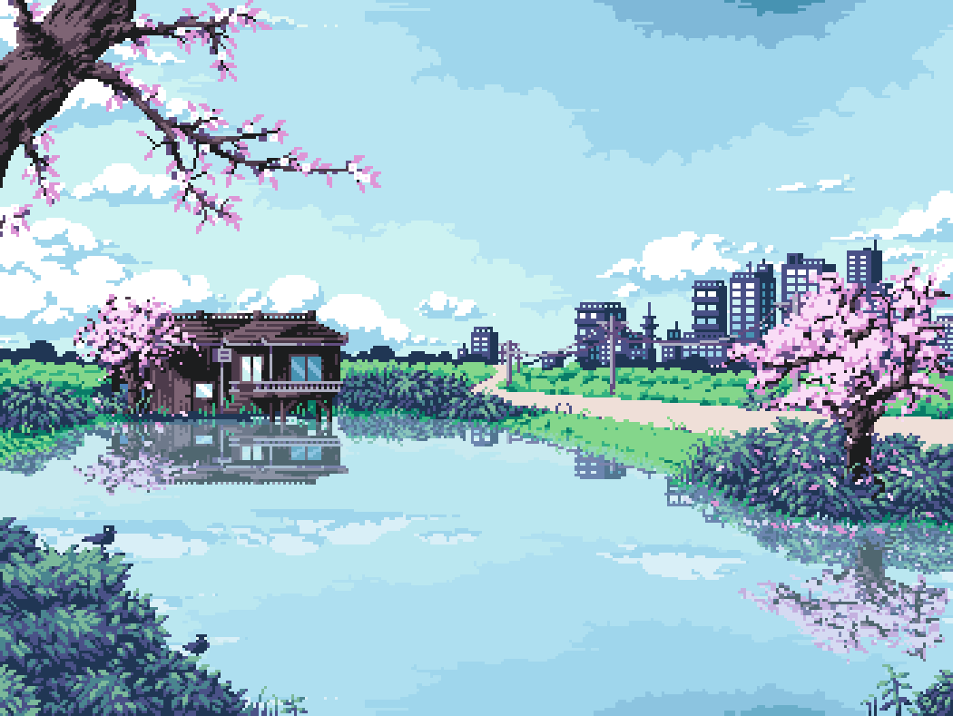 Wizardries Pixel Art Landscape Anime Pixel Art Pixel Art
