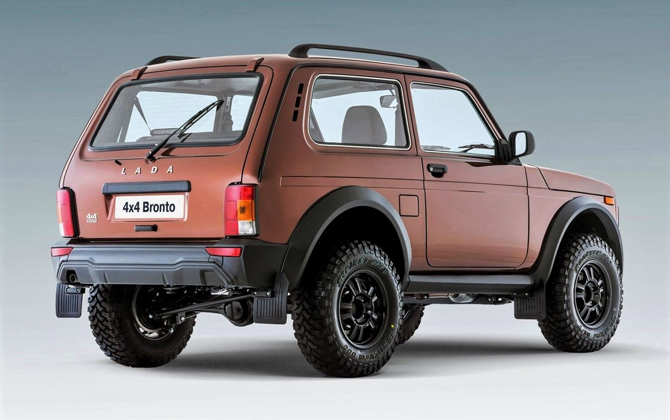 lada niva 4x4 bronto lada. Black Bedroom Furniture Sets. Home Design Ideas
