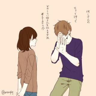 ほのぼのログ アニメのカップル カレカノ 画像 恋人 イラスト