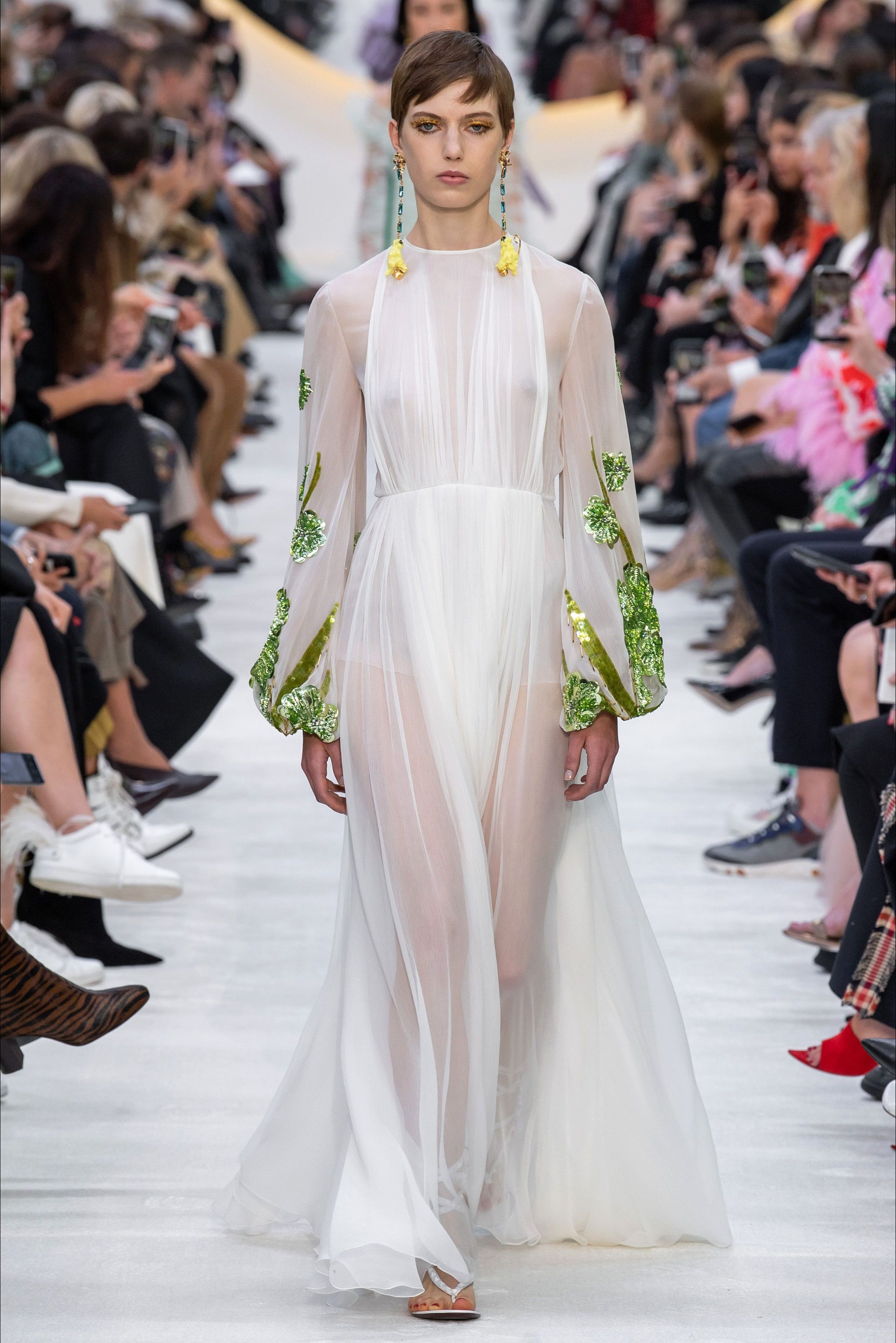 Vestiti Eleganti Valentino.Valentino Spring Summer 2020 Fashion Fashion Show Catwalk Fashion