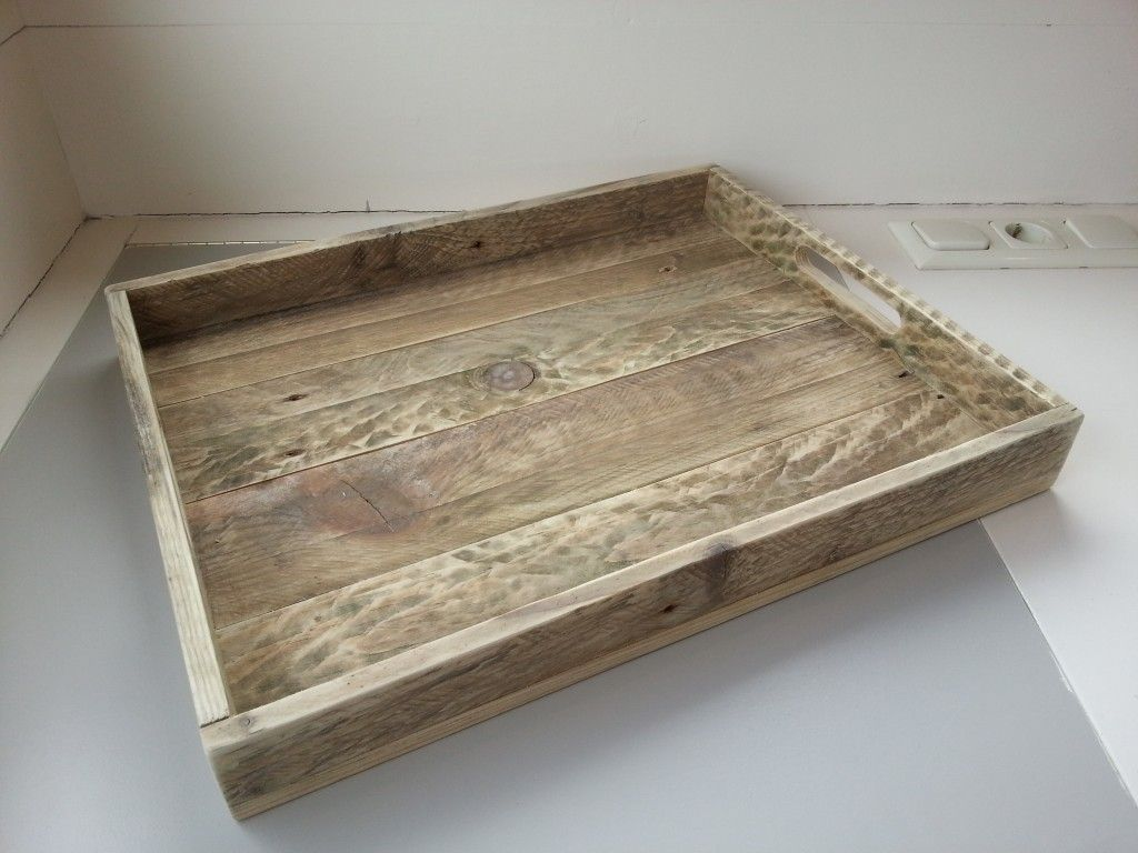 Serviertablett Aus Palettenholz