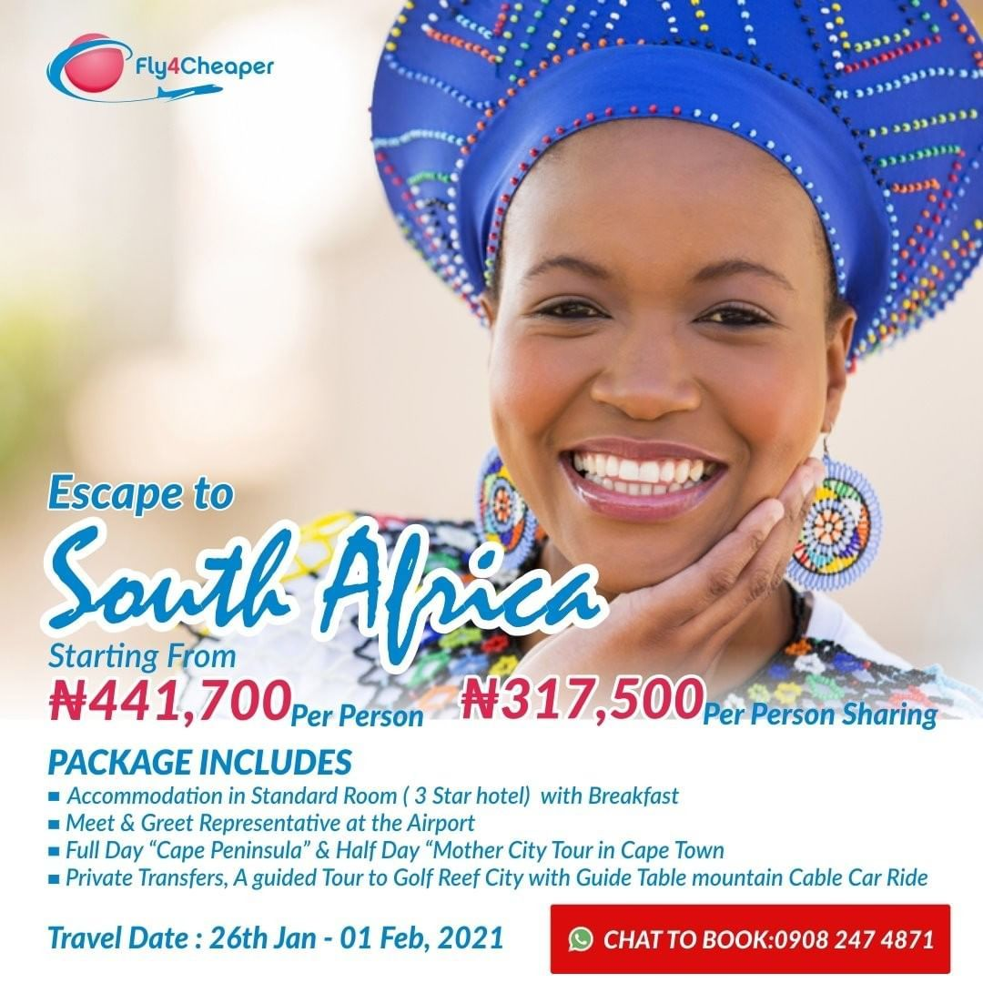 South Africa on our mind 🇿🇦 #fly4cheaper #insurance #travel #wanderlust #lagos #traveldeals #outdoors #travelphoto #wanderlust #trip #travellife #travelers #regrann #southafrica #traveldeals