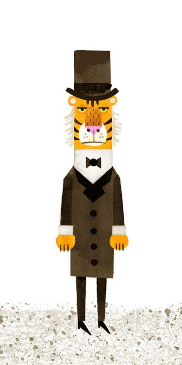 Mr.Tiger Goes Wild by Peter Brown.   http://www.peterbrownstudio.com/