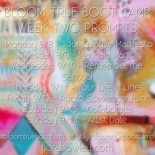 #bloomtruebootcamp Week Two Audio Prompts #meditation
