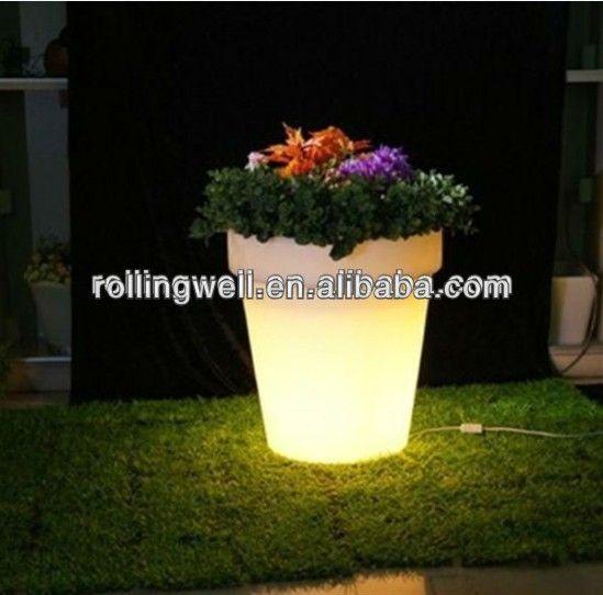 Led Fluorescent Flower Potsfancy Plastic Flower Pots Wholesale