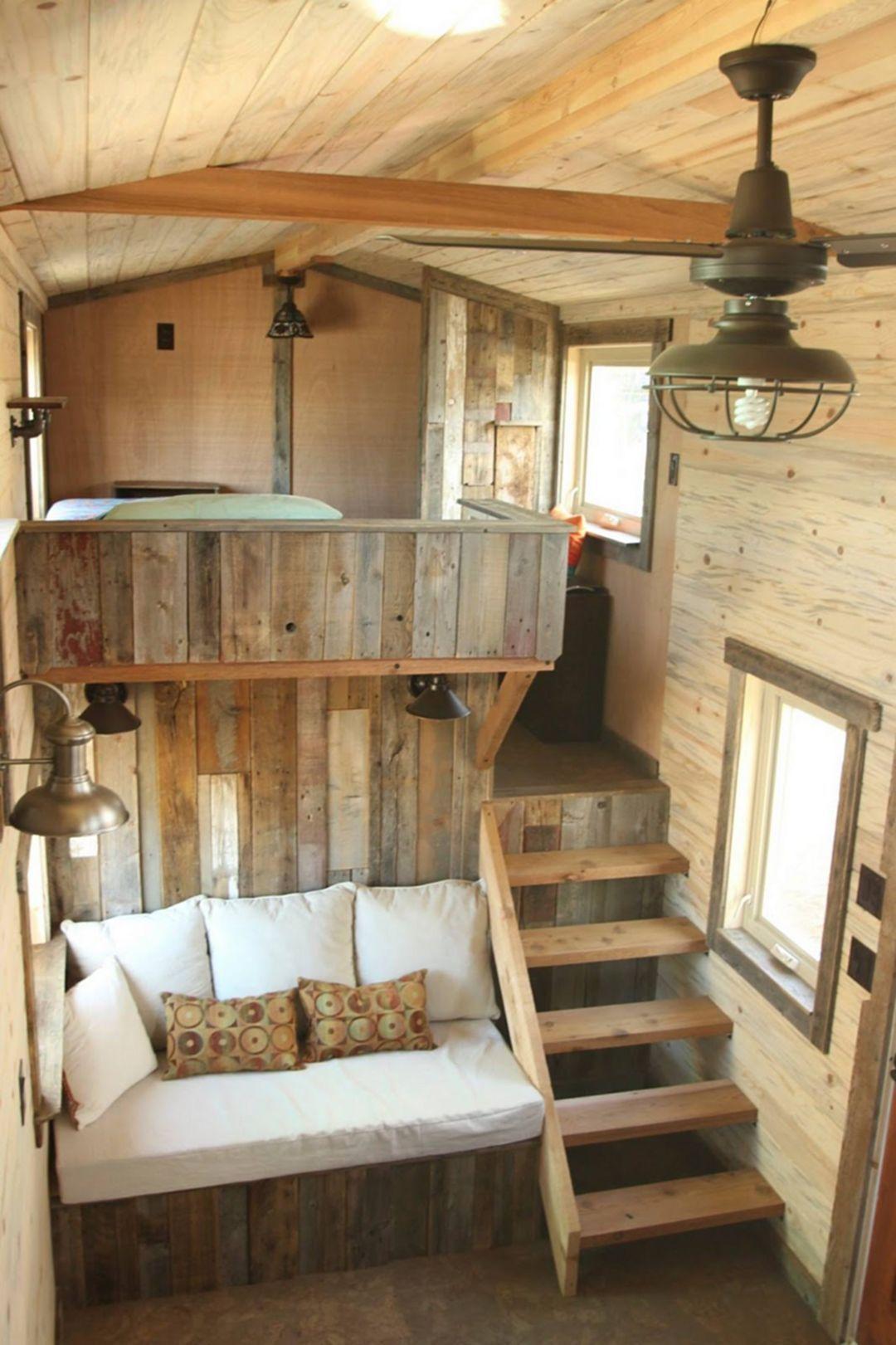 Wonderful Tiny House Design Ideas 2020 狭小ハウス ロフト インテリア
