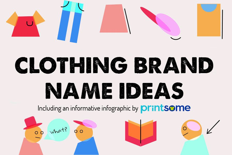 clothing brand name ideas for british designers the infographic - Graphic Design Names Ideas