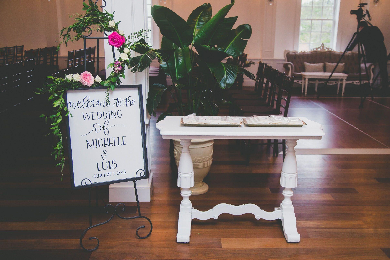 Wedding room decoration ideas 2018  Jade Violet Wedding u Floral  White Room Weddings  Pinterest