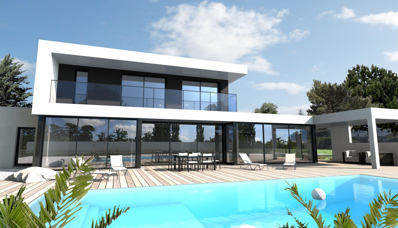 Constructeur maison Loire Atlantique et Vendée | ARCHITECTURE WITH ...
