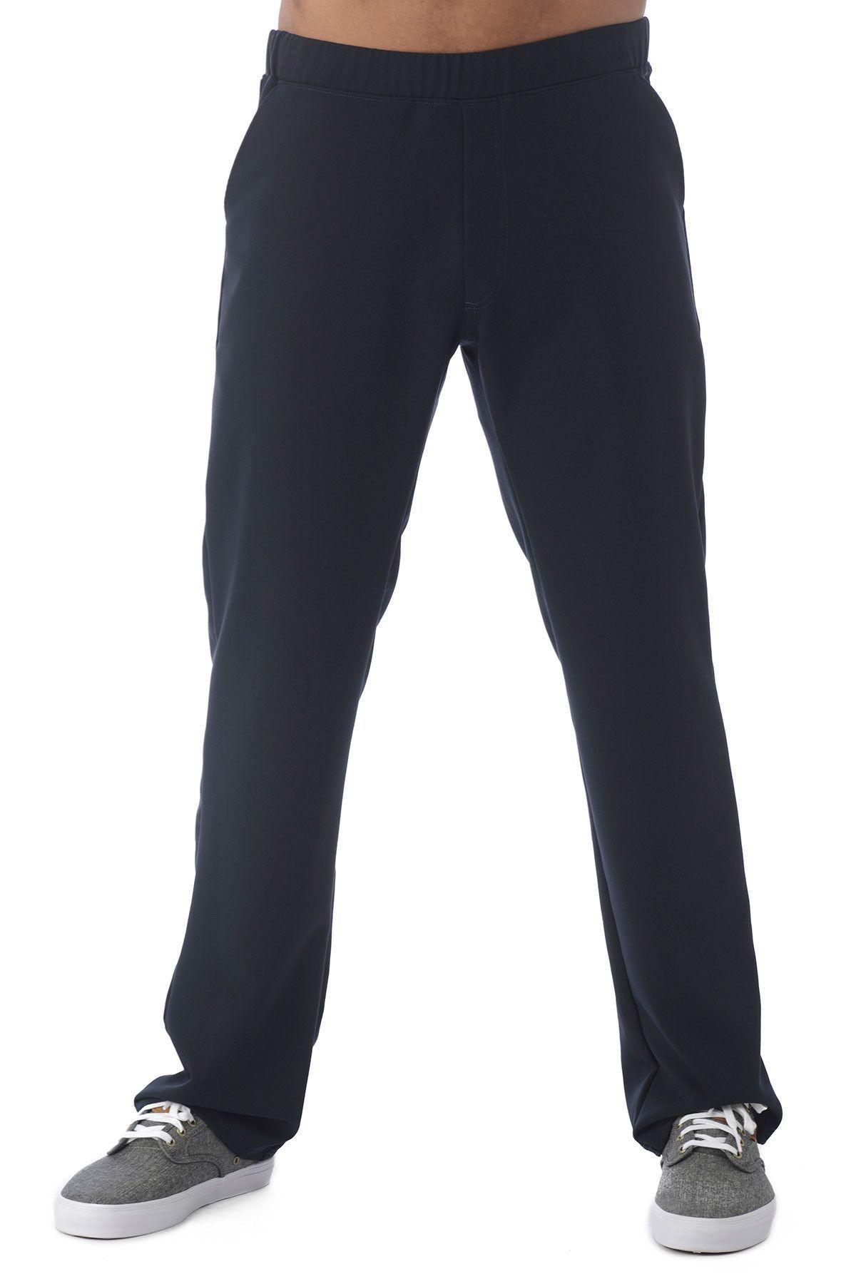Men's grey flannel trousers  Menus