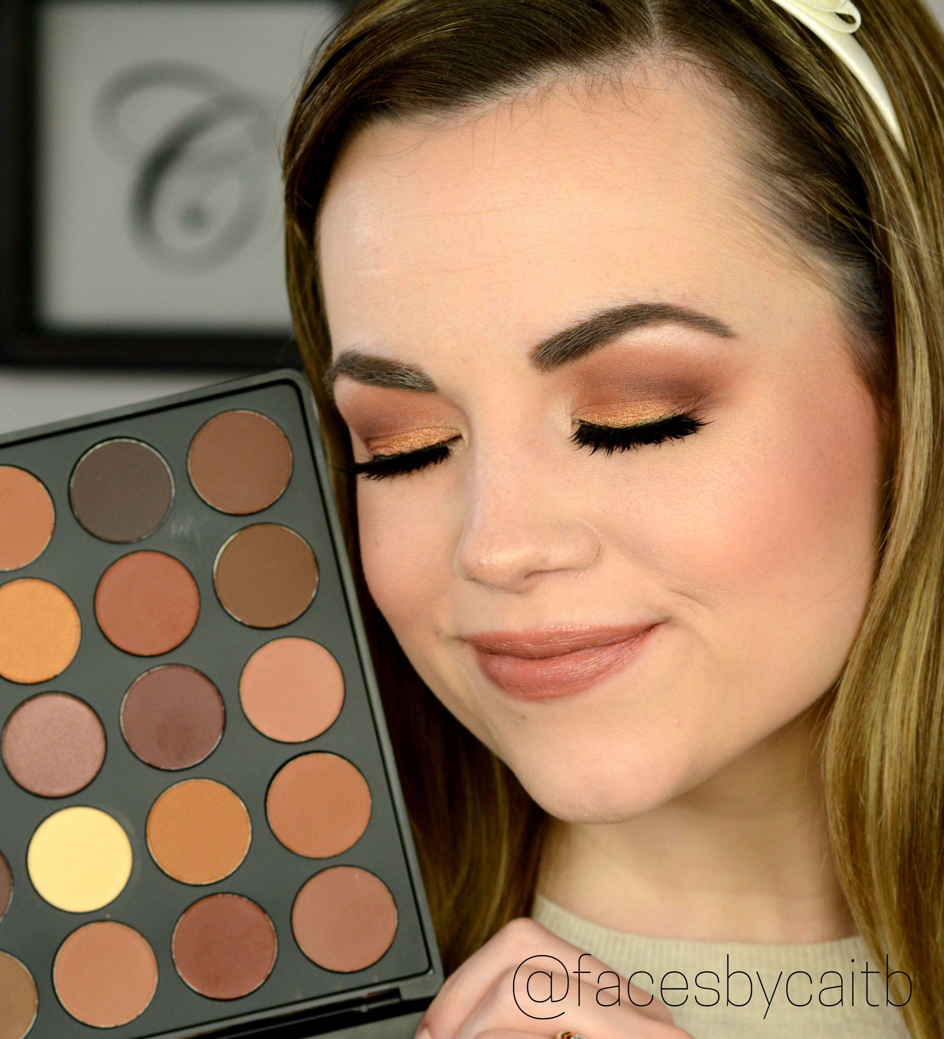 How to even out your eyelids without surgery youtube - Morphe 35r Makeup Tutorial And Review Youtube Com Facesbycaitb