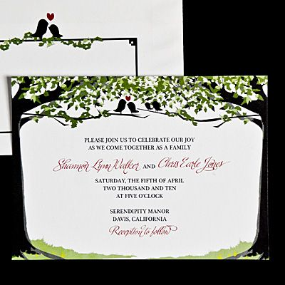 This Happy Invitation Celebrates Your Growing Family Tree