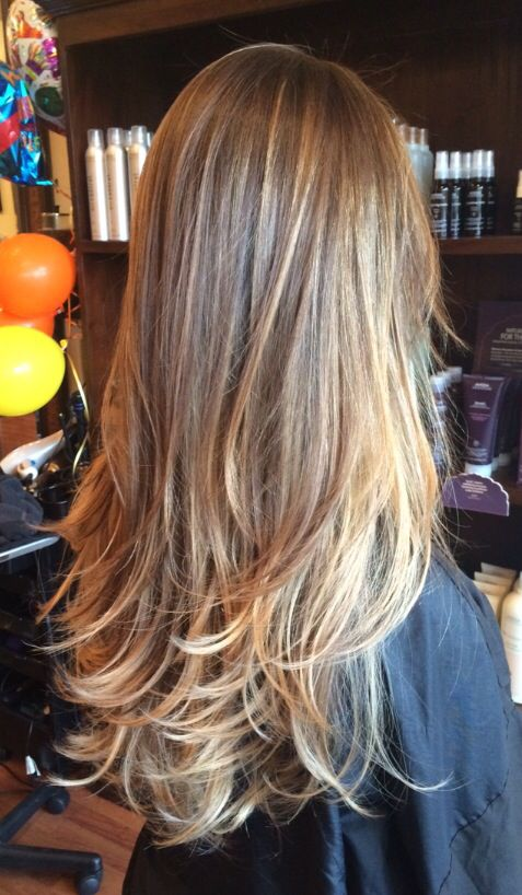 California Blend Hair Color Honey Blonde Hair Brown Hair Balayage Balayage Hair