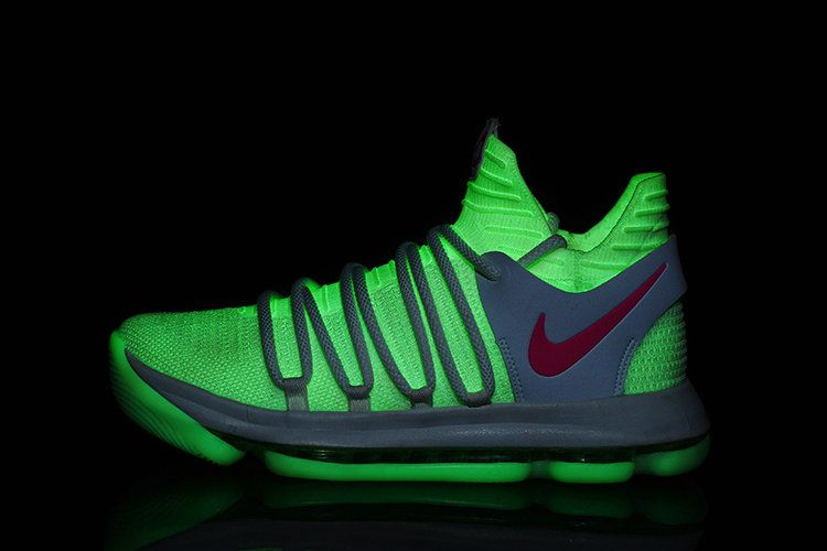 promo code c8512 fad79 Nike KD 10 Authentic X White Atomic Pink Glow In The Dark New Colorways