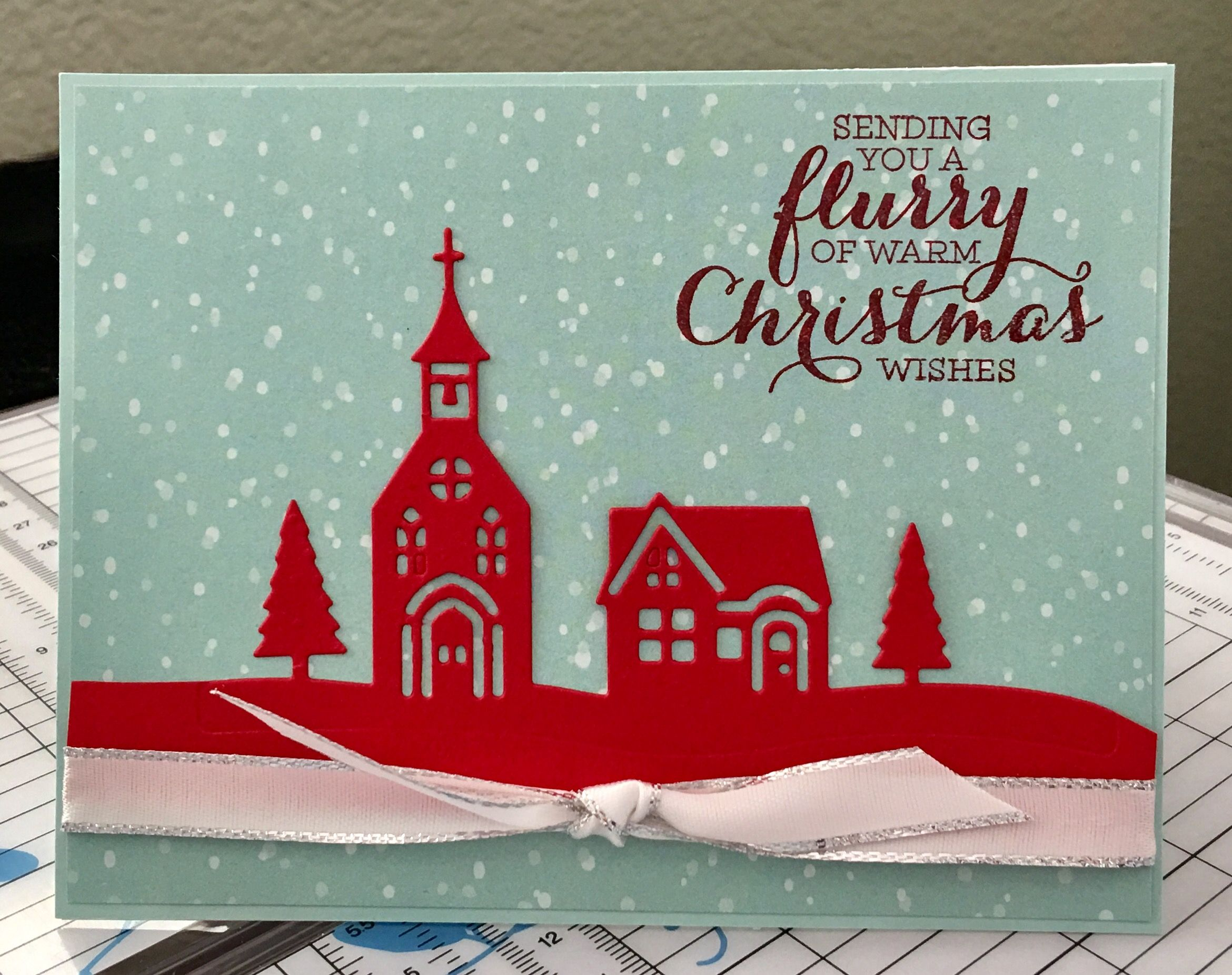 Pin by allison davini on allisons creative greetings pinterest hearts christmas 2017 christmas cards creative card ideas holiday catalog stamping kristyandbryce Choice Image