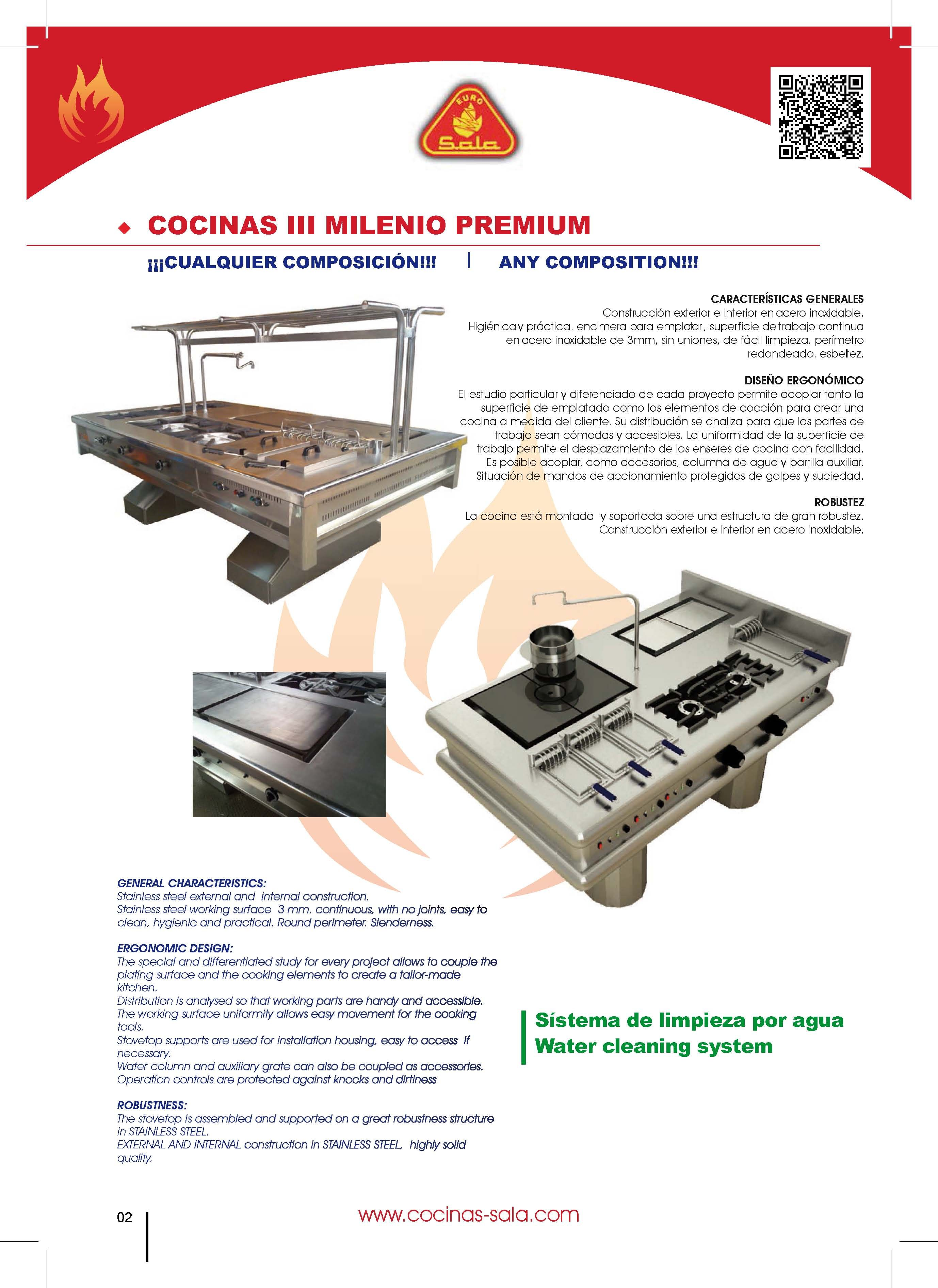 COCINAS MONOBLOCK COCINAS INDUSTRIALES A MEDIDA | CATALOGO COCINAS ...