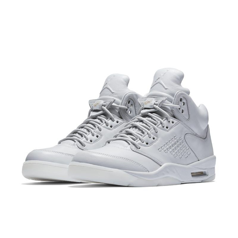 Air Jordan 5 Retro Premium Men's Shoe Silver | Air jordans