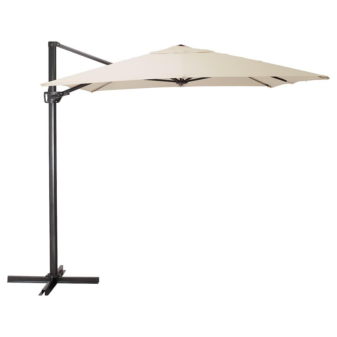 Ikea Seglaro Beige Tilting Umbrella