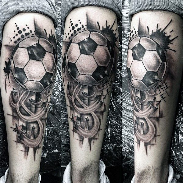 90 Soccer Tattoos For Men , Sporting Ink Design Ideas