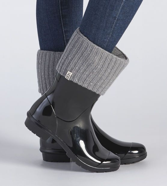 Women's Sienna Short Rainboot Sock | Rain boot socks, Short rain ...