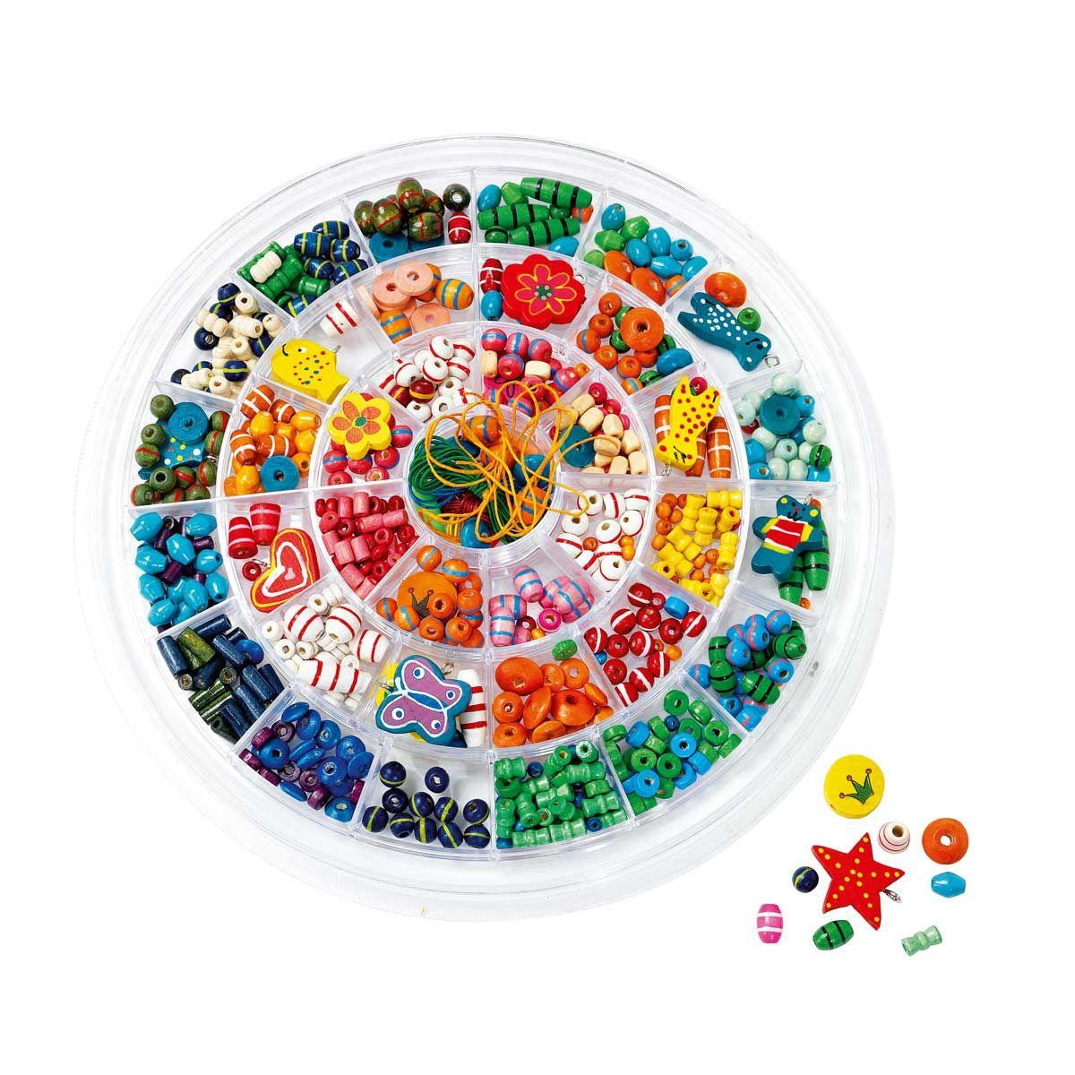 ronde des perles en bois oxybul pour enfant de 5 ans 8 ans oxybul veil et jeux kids. Black Bedroom Furniture Sets. Home Design Ideas