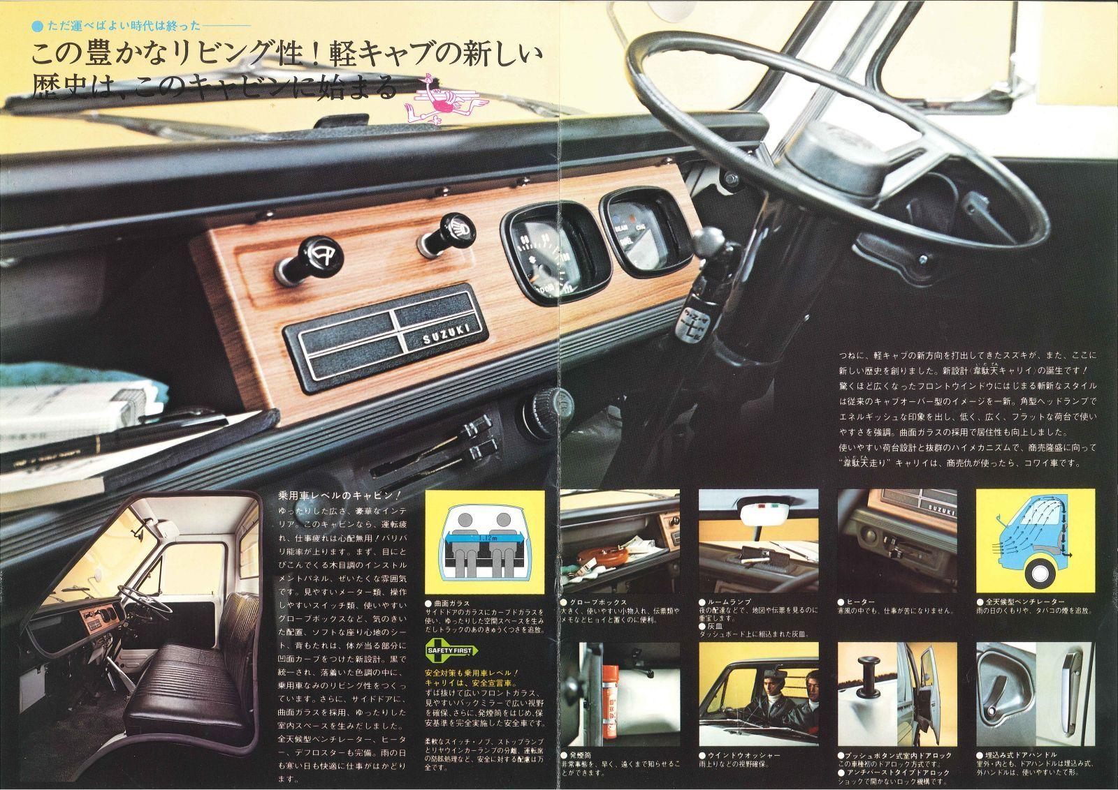 Suzuki Carry Van スズキ 古い車 自動車