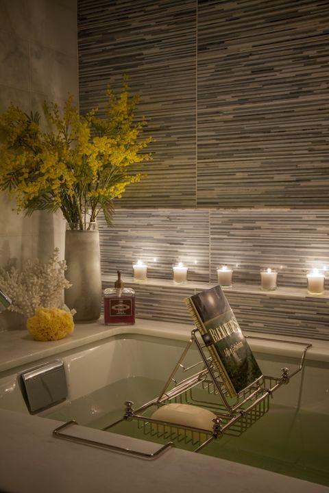 Dreamy Spa Inspired Bathrooms Bathtub Decor Bathroom Spa Spa Inspired Bathroom