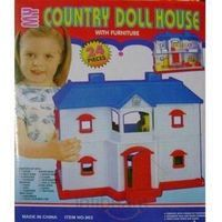 Buy Baby Doll House at lowest price in India -Buy this attractive Doll House which is easy to assemble and included Miniature Furniture, Bathing accessories, Toys etc. Infibeam offers this Doll House with COD, lowest price and free shipping in India.
