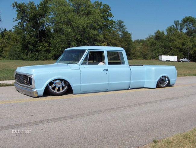 Custom Classic Chevy Crew Cab Dually Truck Dually Trucks