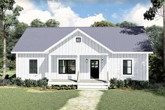 Plan DH 3 Bed Ranch Home Plan with Split Bedrooms