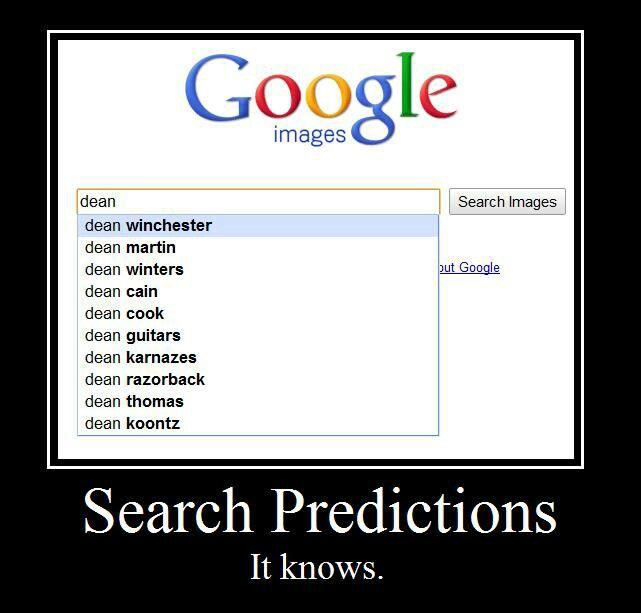 Oh, Google. Smart, smart Google