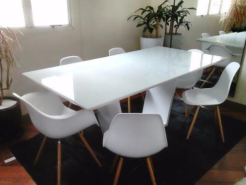 mesa de jantar eiffel com vidro 4mm 1,60 x 1,00