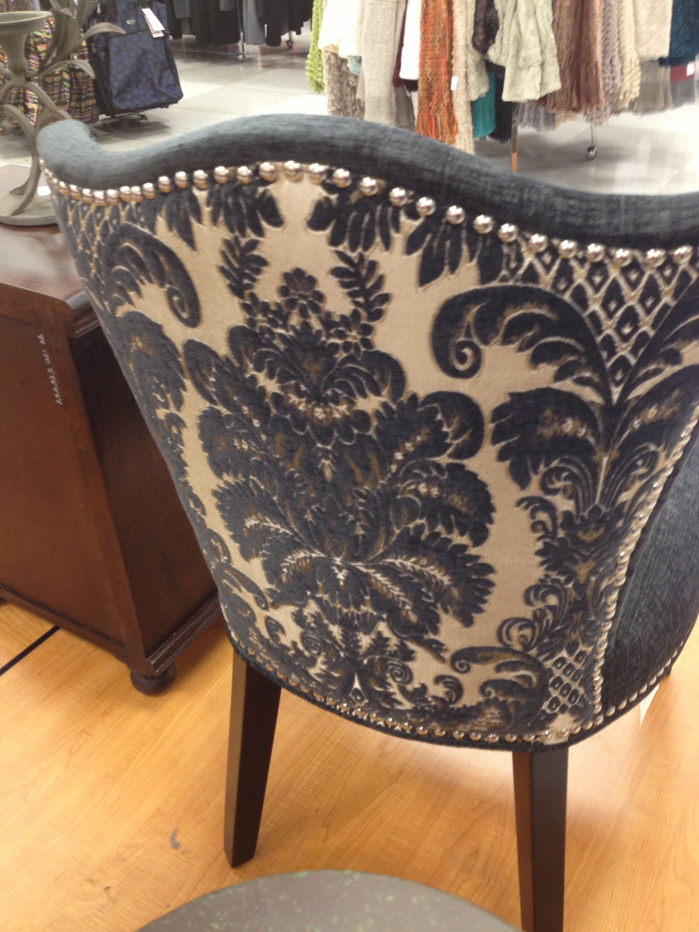 Beau Cynthia Rowley Nailhead Accent Chair