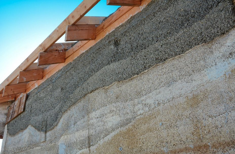 Hempcrete Buildings Are More Environmentally Sustainable And Affordable Than Custom Built Homes And Buildings Maison Verte Maison Ecologique Maison