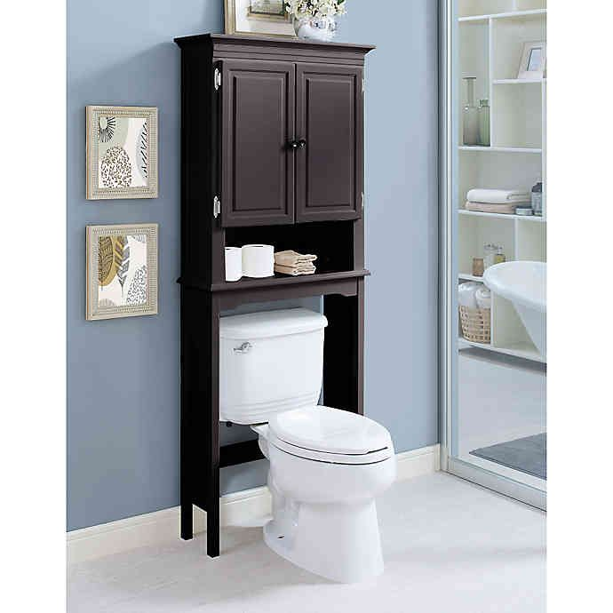 Wakefield No Tools Over The Toilet Space Saver Bed Bath Beyond Space Savers Over Toilet Storage Space Saver Bed