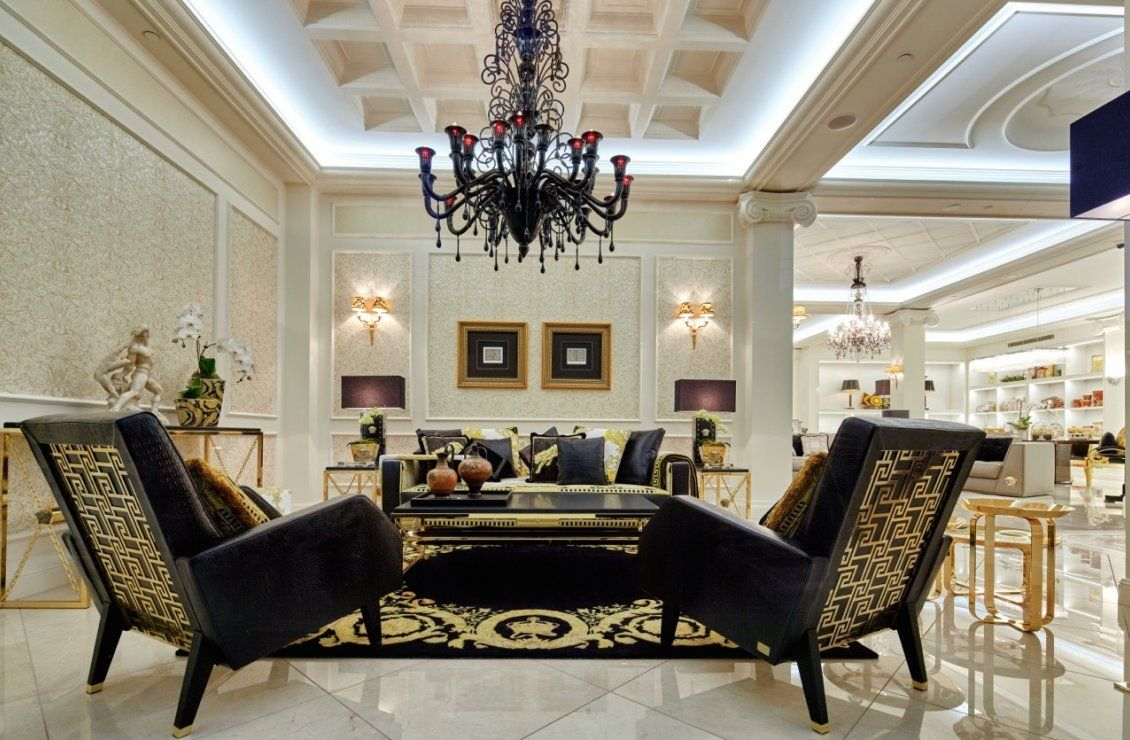 Pin by  on   Versace furniture Versace home