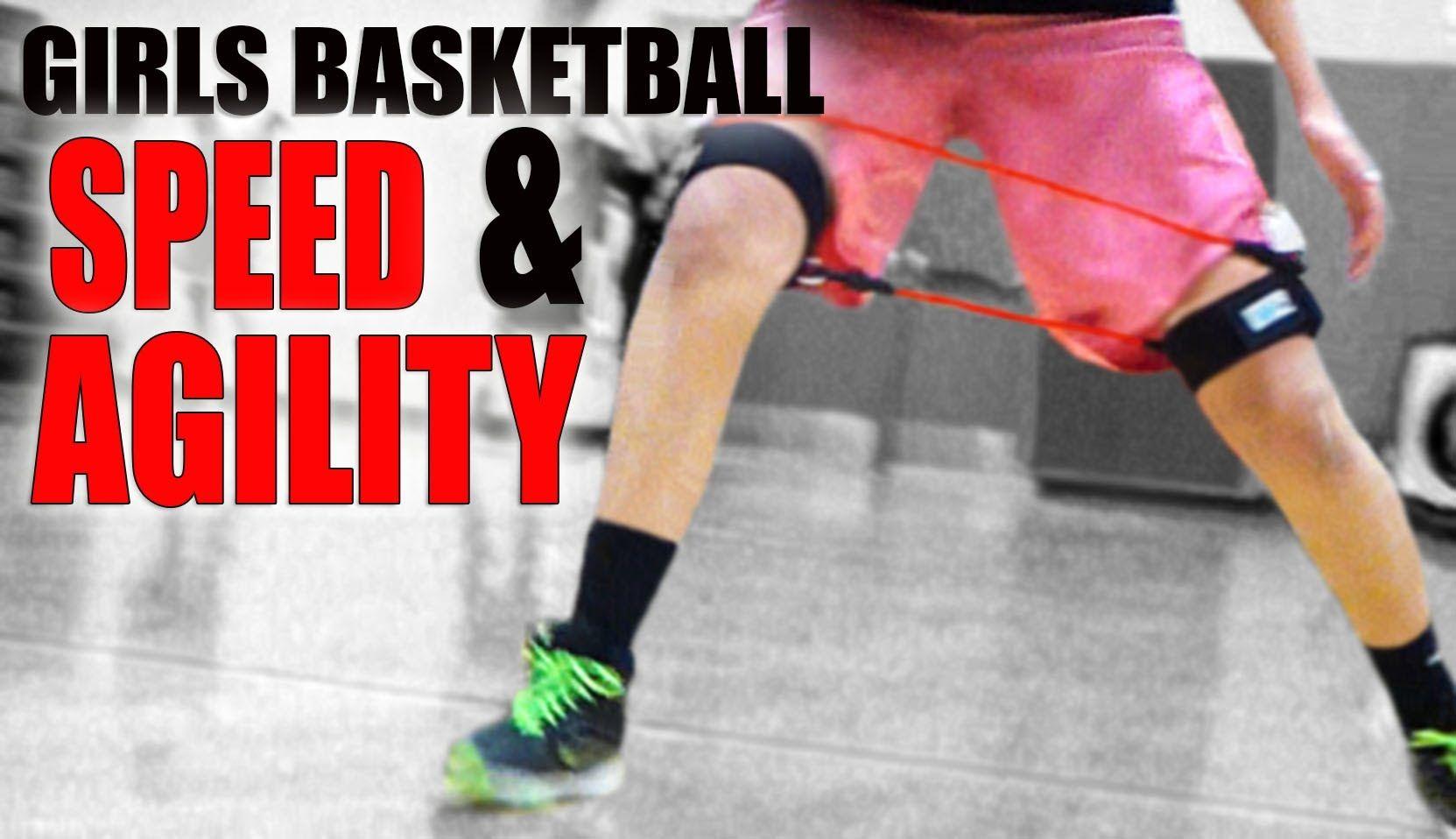 Girls Basketball Speed And Skills Training With Kinetic Bands Basketball Girls Basketball Training Equipment Skill Training