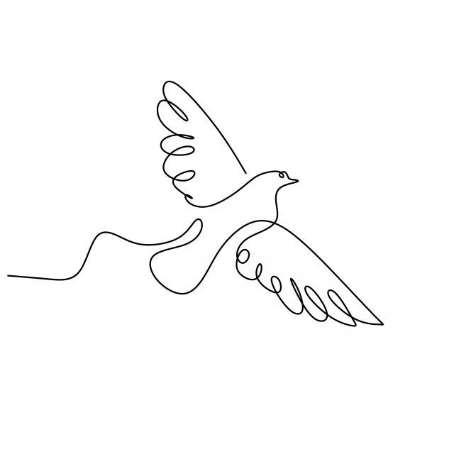 continuous one line drawing of swallow bird flying minimalism bird drawing swallow png and vector with transparent background for free download linejnye chertezhi siluetnye tatuirovki risunok continuous one line drawing of swallow