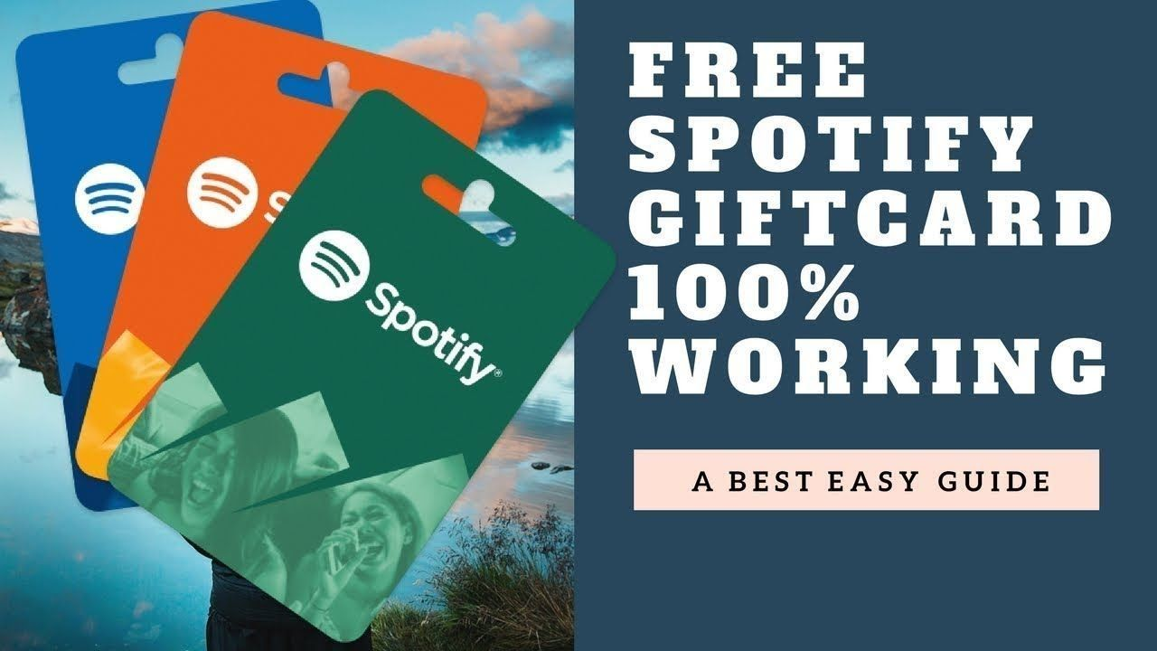 How to get free gift card spotify spotify free gift card