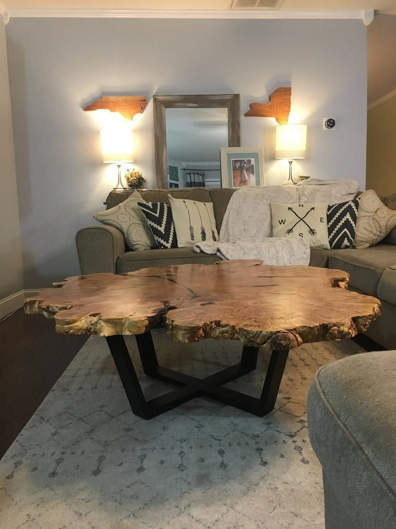 Custom maple burl coffee table in 2020 with images