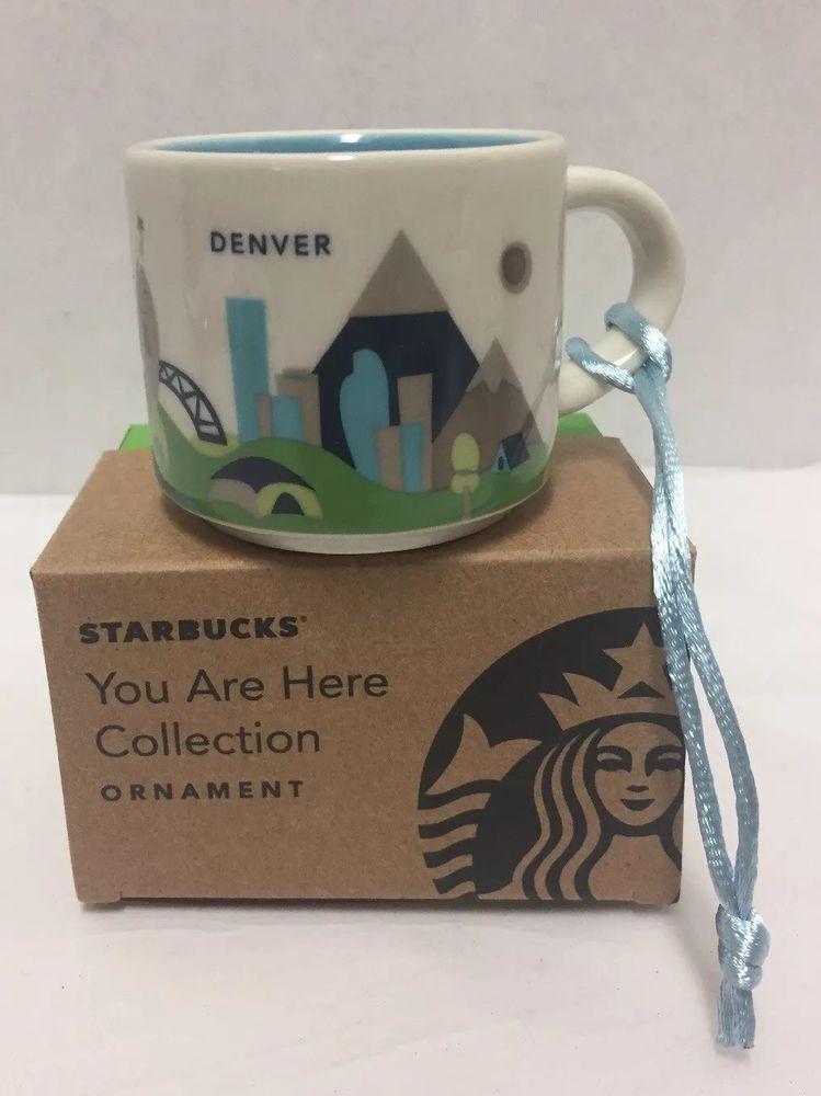 Here Mini Are Ornament Mug Colorado Starbucks Denver You New vNm8n0w