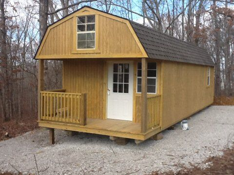 Looks Alot Like A Long Shed But Easy Cabin Cabin Stuff