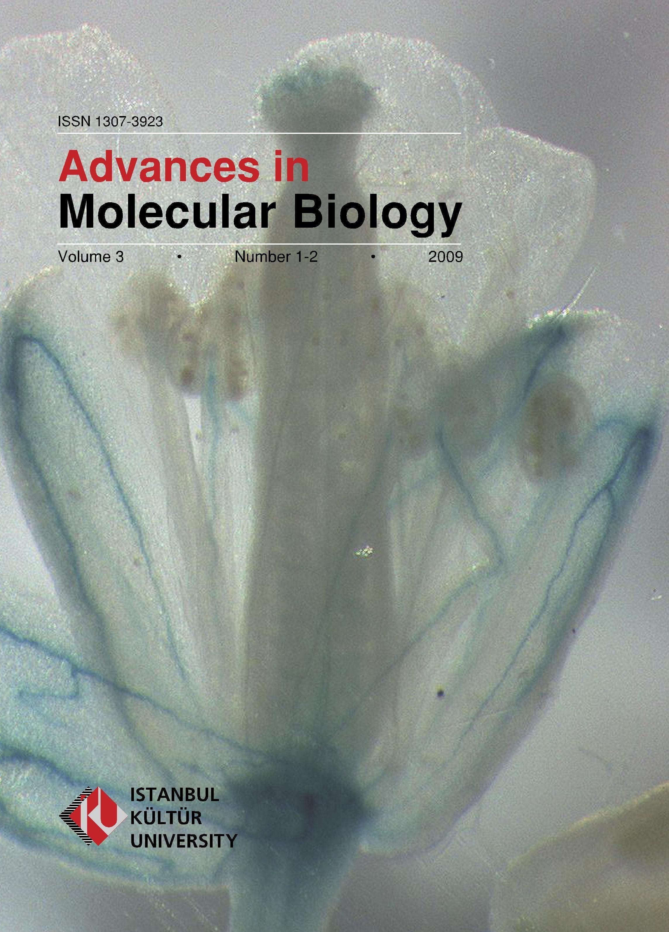 Advances In Molecular Biology Indexed By Eijasr Advances In